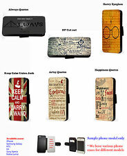 Harry potter quote leather phone case Samsung J3 J5 S6 S8 S9 A3 A5 A6 A8 Note 4