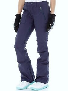 BURTON Women's VIDA Snow Pants - Mood Indigo - Size XSmall    LAST ONE LEFT