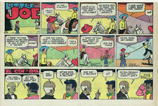 Little Joe by Leffingwell - Western - color Sunday comic page - August 13, 1961