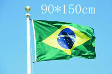 New Big Brazil Flag 3x5Ft Brazilian Soccer Sport Banner Hanging Flag Collection