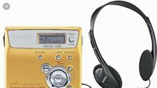 Sony Highspeed Net Md Walkman Mzn505 Gold