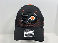 Philadelphia Flyers NHL Hockey Fanatics Pro Flex L/XL Fitted Cap Black, NEW!