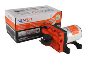 SEAFLO 42 Series, 12v (11.3LPM  55PSI) Pressure Pump ,Boat Caravan Camping