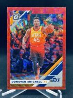 2019-20 Donruss Optic Tmall Ruby Red Wave Prizm Donovan Mitchell SP UTAH JAZZ