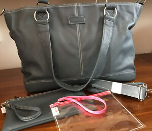*NEW* MIA TUI JENNI Extra Large Airforce Blue Zip Top Travel Bag & Pouches