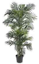 6.5 Feet Palm Tree Fake Artificial Ficus Green Pool Plant Home Garden Indoor New