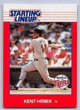 1988 Kent Hrbek - Kenner Starting Lineup Card - Minnesota Twins