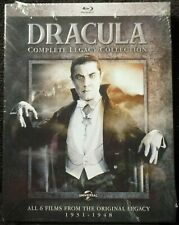 DRACULA Blu Ray BELA LUGOSI 6 Movies LEGACY Son FRANKENSTEIN Daughter HOUSE OF A