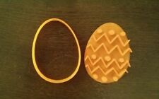 EASTER EGG BISCUIT CUTTER SEAMLESS COOKIES CRAFT CAKE DECORATING SUGARCRAFT