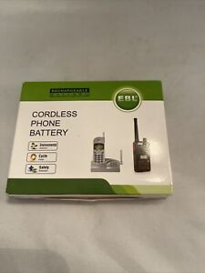 EBL Rechargeable Cordless Phone Battery 4pk NIB