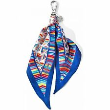 Let's Hang Out Msrp $40 Nwt Brighton Bright Hearts Scarf Fob