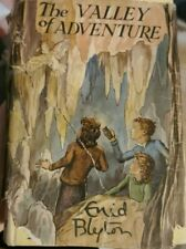Enid Blyton vintage hardback books - The Valley Of Adventure - 1st Edition