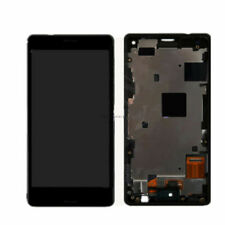 Black for Sony Xperia Z3 Mini Compact D5803 D5833 LCD Display Touch Screen Frame