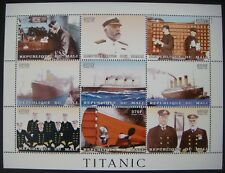 MALI TITANIC STAMPS SHEET 1998 MNH OCEAN LINER SHIPS BOAT CRUISE PASSENGER