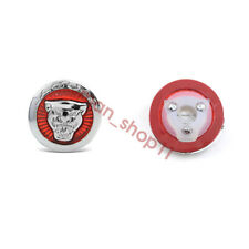 Silver Jaguar logo Badge Start Button Keyless-go Access F X S TYPE XF XJ PART