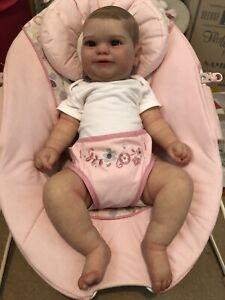 Reborn Baby Doll Maddie Bonnie Brown