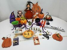 34 Piece Assorted Lot of Home Decor Halloween Decorations Quality 17 Pounds!
