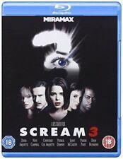Scream 3 Blu-ray DVD Region 2