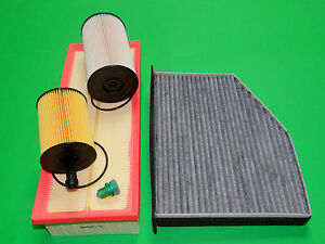 Ölfilter Kraftstofffilter Luftfilter Pollenfilter Skoda Superb (3T) 1.9 TDI