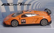 """MondoMotors Lamborghini  SuperTrofeo #99 """"Orange"""" - RACING Metal 1:43"""