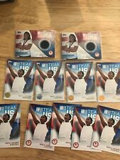 11 card lot: 2016 TOPPS OLYMPIC MAYA MOORE 2-RELIC CARDs + inserts & base