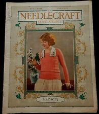 Needlecraft Magazine  May 1923 FASHION - NEEDLEWORK - CREAM OF WHEAT AD