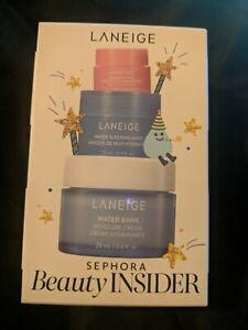 Laneige Sephora Beauty Insider 3 Piece Lip Masks NEW Birthday Set free shipping!