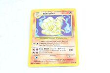 Pokemon TCG Card Ninetails 12/102 Base Set Rare Holo V3