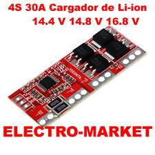 4S 30A Cargador de batería  Li-ion 14.4 V 14.8 V 16.8 V Protección de Sobrecarga