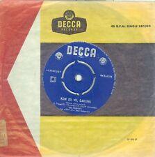 "THE FOURYO 'S  ZEG NIET NEE ( DUTCH DECCA  FM 244 273) 7""PS  1959"