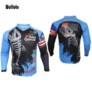 Fishing Jersey Long Sleeve Fishing Shirt Breathable Quick Dry Anti-UV