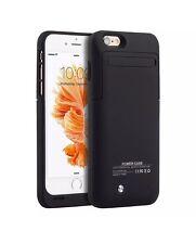 Apple Iphone 6/6S Plus Black 4,200-milliampere-hour Battery Charging Slim Case