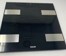 Beurer Glass Digital Body Analysis Bathroom Scale with Large Red LCD Display