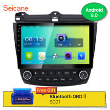Android 6.0 Auto Radio GPS Navi Bluetooth Radio Stereo for Honda Accord 7th