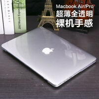 """Crystal Hard Case + Keyboard Cover For Apple MacBook Air 11"""" 13"""" Pro 13 inch 15"""