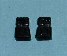 original G1 Transformers RAMJET THRUST DIRGE R+L FIST LOT (double tab) parts