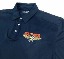 Mickey Thompson Callaway Black Golf Polo Shirt Sz XXL Performance Tire Wheels
