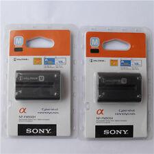 2x NP-FM500H Battery For Sony A350 A850 A900 A550 A500 A700 A450 A560 A580 A200K
