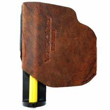 "Versacarry Zerobulk Pro Medium 9mm with 4/"" barrel brown leather IWB\OWB PRO9MD"