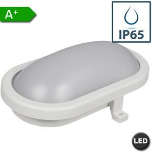 LED Feuchtraumleuchte | Kellerleuchte | Ovalleuchte | Nassraum Lampe 6W 12W iP65