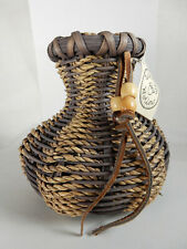 New Woven Basket Lonnie Taliaferro, with Tag, Wild Plum Hallow Collectible