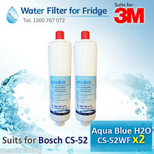 2 x CS-52 3M Double Action Water Filter suit for  ZIP WATER FILTER   51000 52000