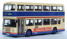 34906 EFE Leyland Olympian Double Deck Coach Bus Western National 1:76 Diecast