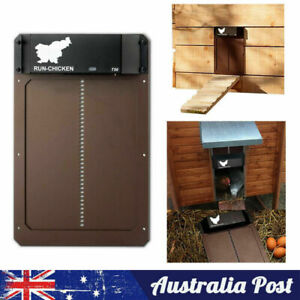Waterproof Chicken Coop Door Opener Light Sensor Automatic Chicken House Door