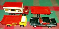 Matchbox Superkings Container, Tipper Truck, Farm Trailer K19 K24 & Corgi Jaguar