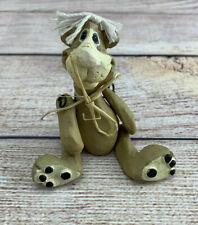 "Russ Berrie Cat Kitty Hard Jointed Figurine Artist Kathleen Kelly 3"""