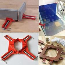 90 Degree Right Angle Miter Picture Frame Fish Tank Corner Clamp Holder AL