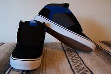 VANS Ellis Mid Men's Skate Shoes (Suede/Textile) Black/Blue Size 9.5 NIB KILLER!