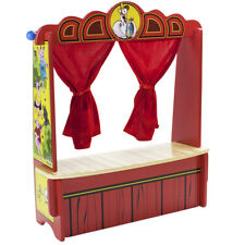 "Mother Goose's Tabletop Puppet Theater 18"" For Kids Children's Puppet Shows"