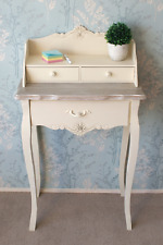 Vintage Writing Desk Antique French Furniture Small Side Table Secretary Console